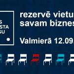"""Valmierā 12. septembrī notiks forums """"Valsts atbalsta biznesu"""""""
